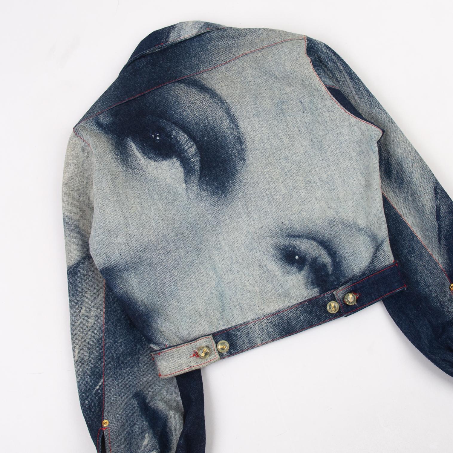 """Vivienne Westwood Marlene Dietrich """"ALWAYS ON CAMERA"""" Jacket"""