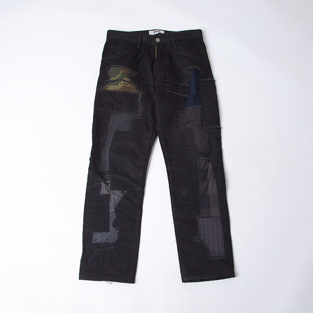 eYe JUNYA WATANABE MAN Patchwork Black Denim Pants