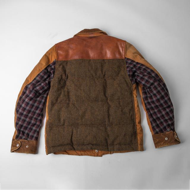 AD2010 COMME des GARÇONS JUNYA WATANABE MAN Switching Down Jacket