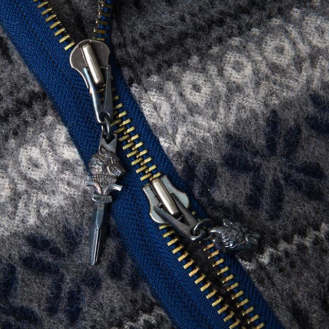 2014A/W Yohji Yamamoto POUR HOMME Nordic Pattern Jacket