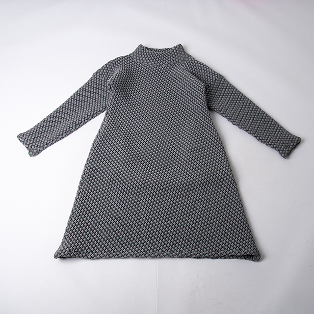 ISSEY MIYAKE 2019A/W Emboss Design Dress