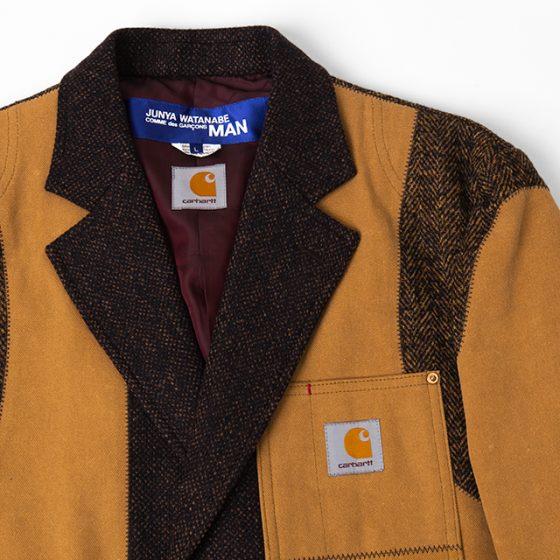 COMME des GARÇONS JUNYA WATANABE MAN x Carhartt Tweed Switching Jacket