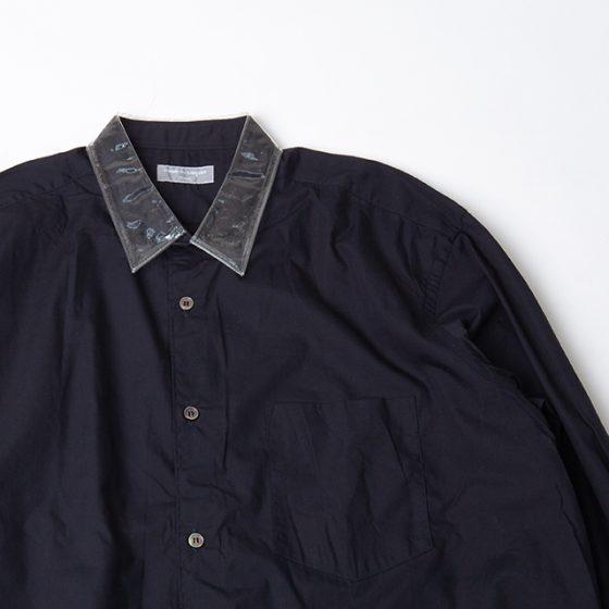COMME des GARCONS HOMME PVC Collar Shirt