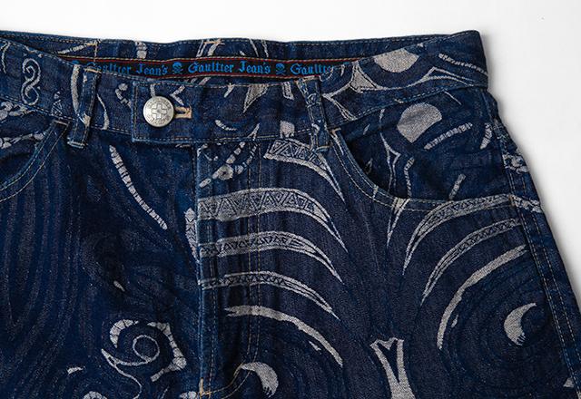 Jean Paul GAULTIER Tribal Woven Jeans