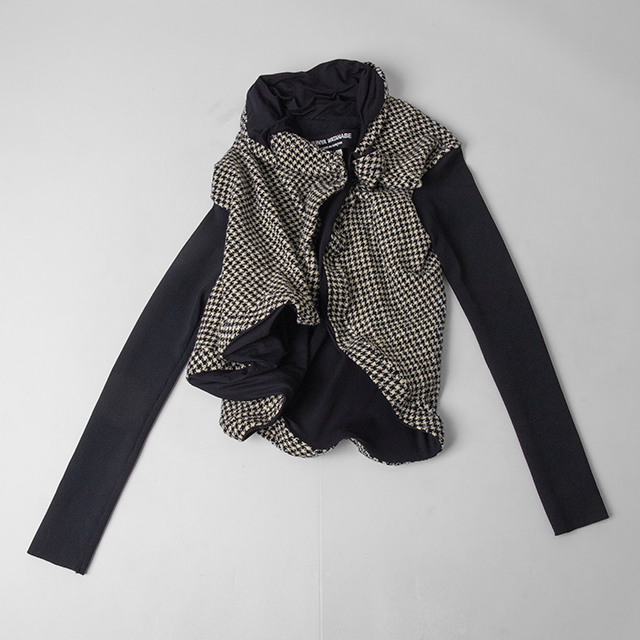 JUNYA WATANABE COMME des GARCONS Houndstooth Switching Jacket