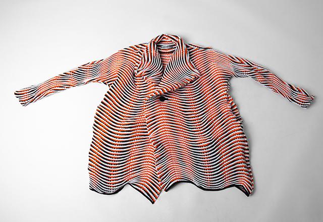 ISSEY MIYAKE Weave Pleats Jacket