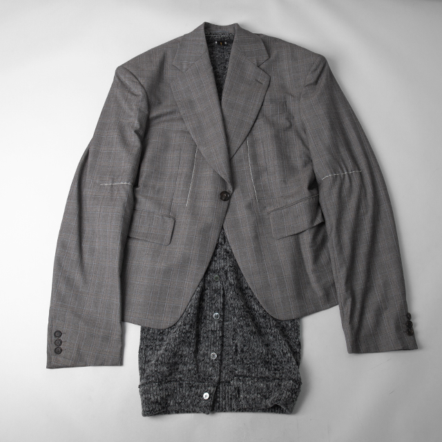 2014A/W COMME des GARCONS Knit Layer Over-sized Jacket