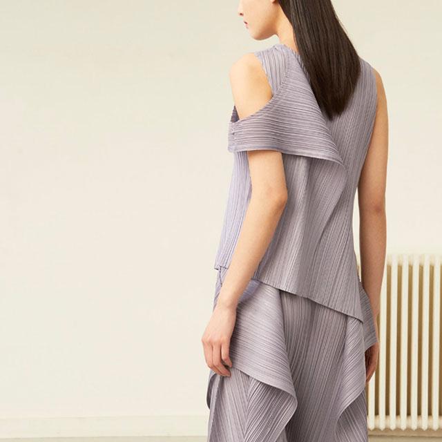 2019A/W Pleas Please Draped Design Pleats Tunic