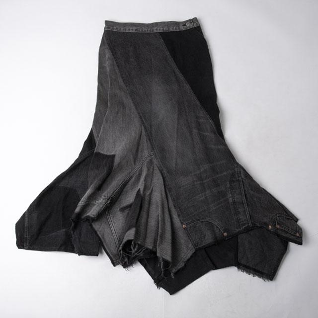 JUNYA WATANABE COMME des GARCONS denim Remade Design Skirt