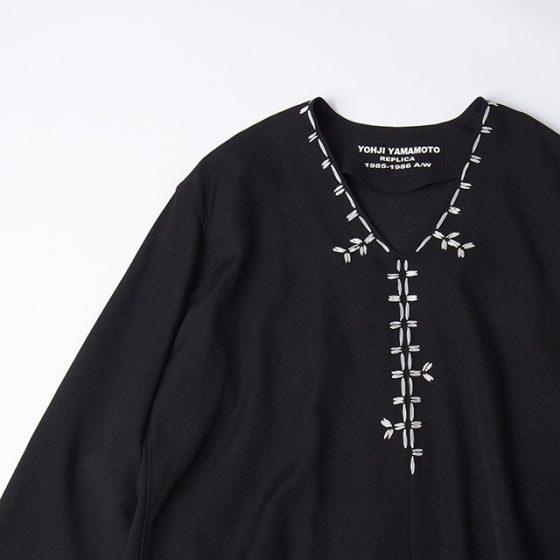 Yohji Yamamoto POUR HOMME REPLICA 1985-1986 A/W Tape Stitch Blouse