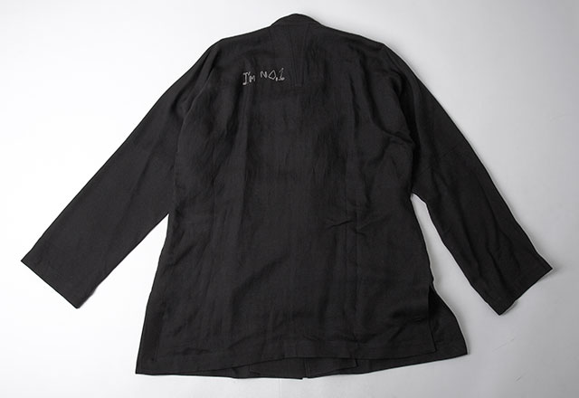 2015S/S Yohji Yamamoto POUR HOMME Clip Logo Design Jacket