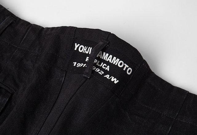 Yohji Yamamoto POUR HOMME REPLICA 1991-1992A/W Stitched Pants