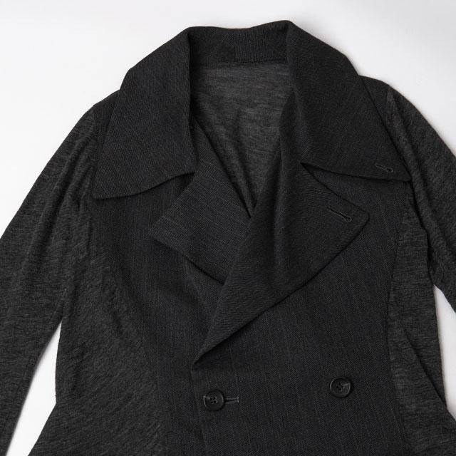 Yohji Yamamoto Knit Switching Jacket