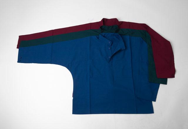 IM MEN Stand-collar Dolman Sleeve Pullover Top