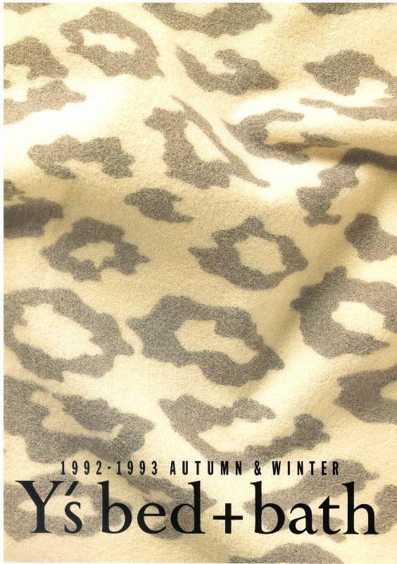 1992-1993 AUTUMN&WINTER Y's bed+bath
