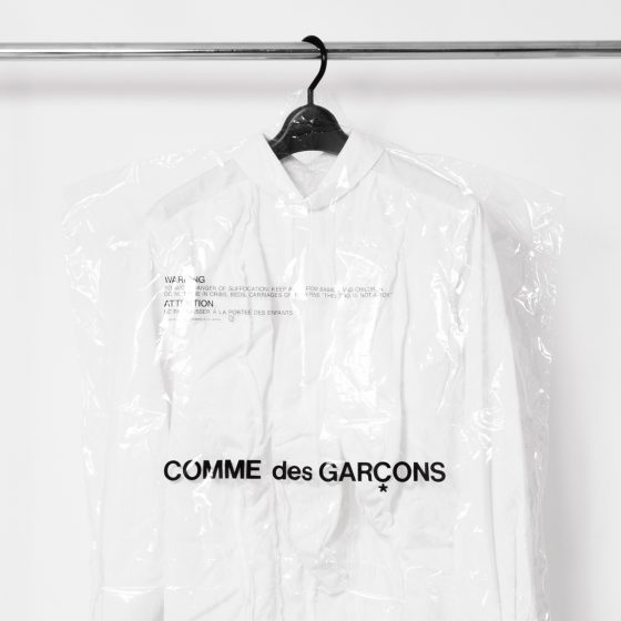 HOW TO GET THE INFORMATION FROM THE QUALITY LABEL FOR COMME DES GARCONS