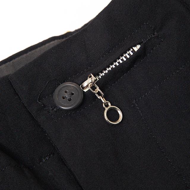 1986A/W Original Yohji Yamamoto POUR HOMME Zipper Hole Pants