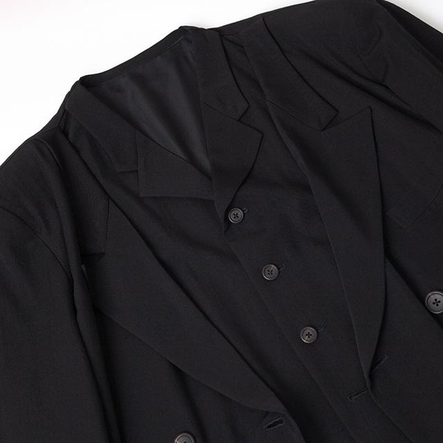 1986A/W Yohji Yamamoto POUR HOMME Layered Design Jacket