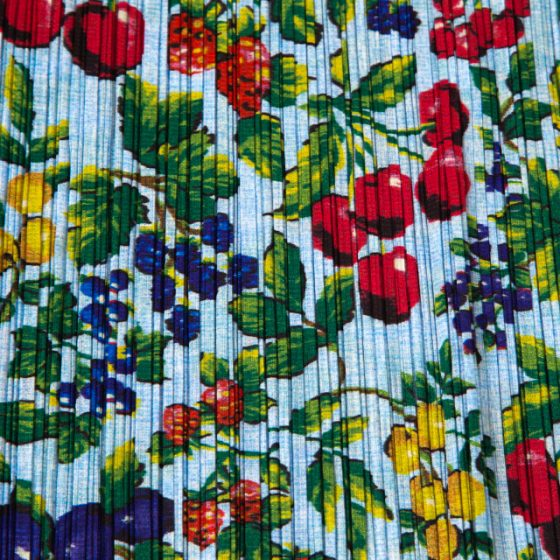 PLEATS PLEASE ISSEY MIYAKE Botanical Printed Pleats Shirt & Skirt