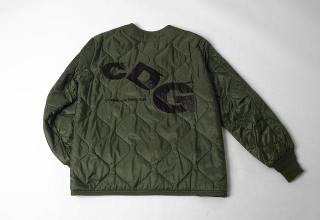 CDG (COMME des GARCONS)  Back Logo Printed Alpha Liner Jacket