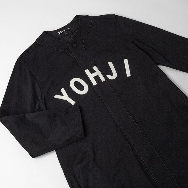 2019A/W Y-3 YOHJI Patched Baseball Shirt