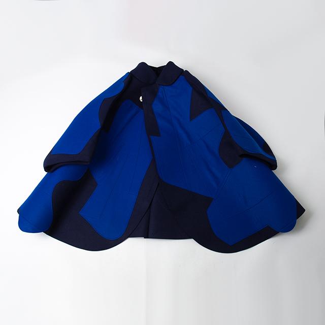 2012A/W COMME des GARCONS 2D Paste Design Jacket