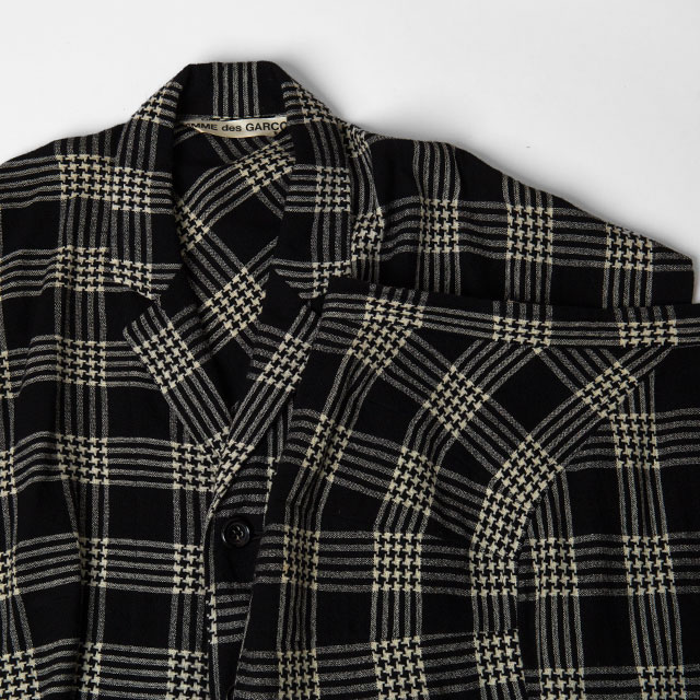 80'S COMME DES GARCONS Plaids Jacket & Skirt
