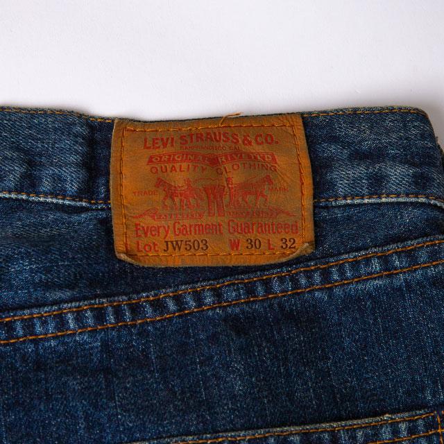 JUNYA WATANABE MAN COMME des GARCONS × 10 corso como Levi's 503 Printed Jeans