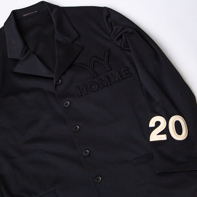 """Yohji Yamamoto POUR HOMME """"YY HOMME 20"""" Patched Jacket"""