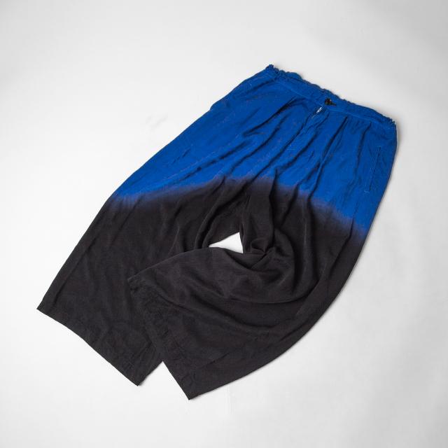 2021S/S Y's (Yohji Yamamoto) Dyed Wide Pants