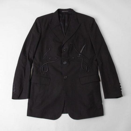 Yohji Yamamoto POUR HOMME Scissors Embroidery Jacket
