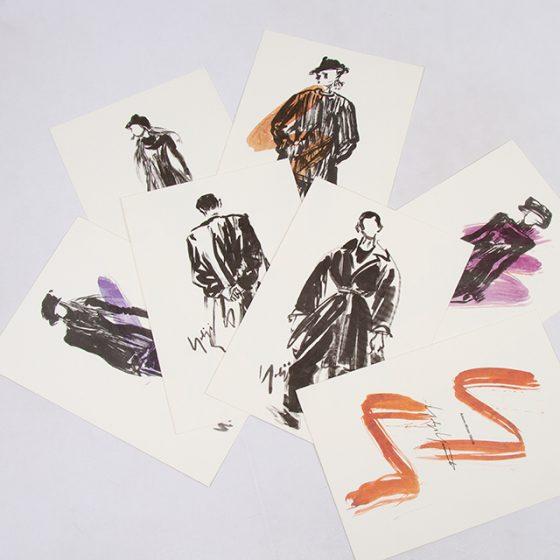 Yohji Yamamoto Autumn-Winter 1992-93 Postcard