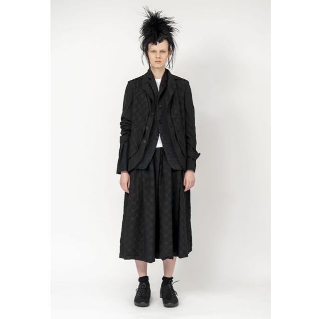 2020S/S BLACK COMME des GARCONS Polka Dot Skirt