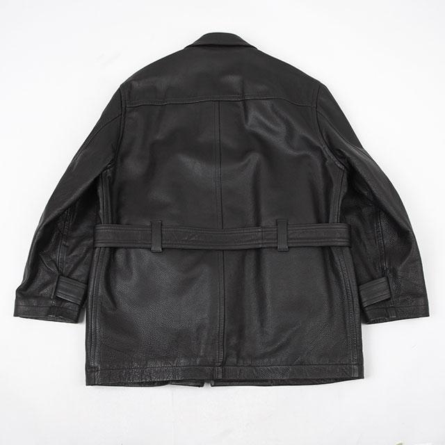 AD1990 COMME des GARCONS HOMME Leather Jacket