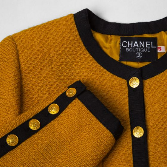 1989A/W CHANEL Vintage Tweed Jacket
