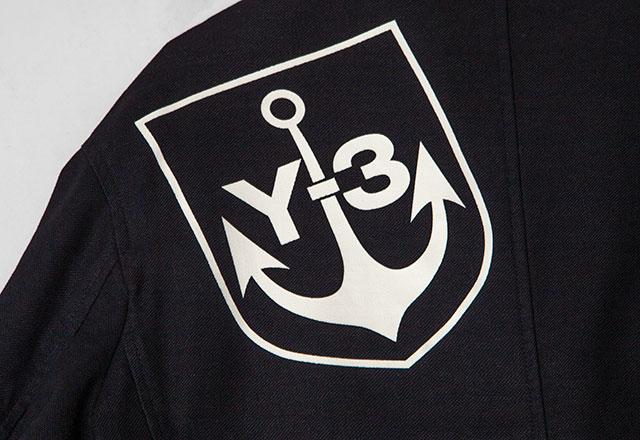 Y-3(Yohji yamamoto x adidas) Emblem Printed Jacket