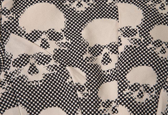 COMME des GARCONS HOMME PLUS Dot Skull Jacket