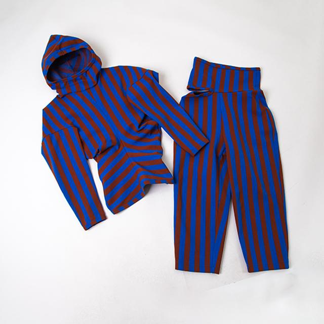 AD1990 COMME des GARCONS Striped Hoodie & Pants
