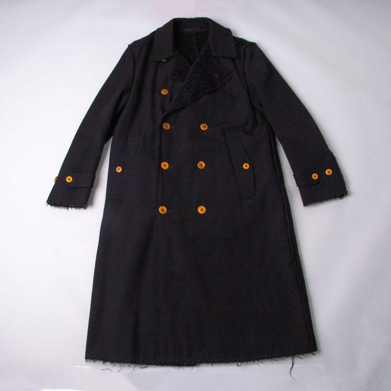 COMME des GARCONS HOMME PLUS Fur Switching Inside-out Coat