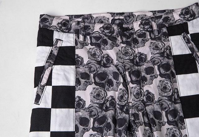 COMME des GARCONS HOMME PLUS Pattern Switching Pants