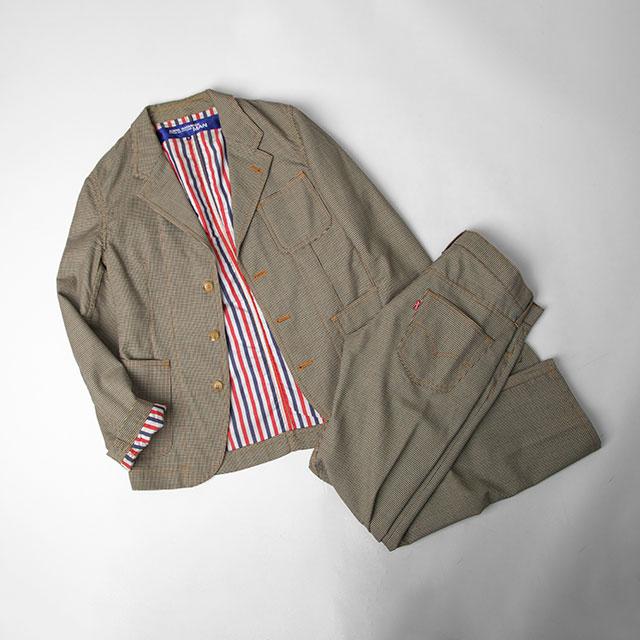 JUNYA WATANABE MAN COMME des GARÇONS x Levi's  Houndstooth Jacket & Pants