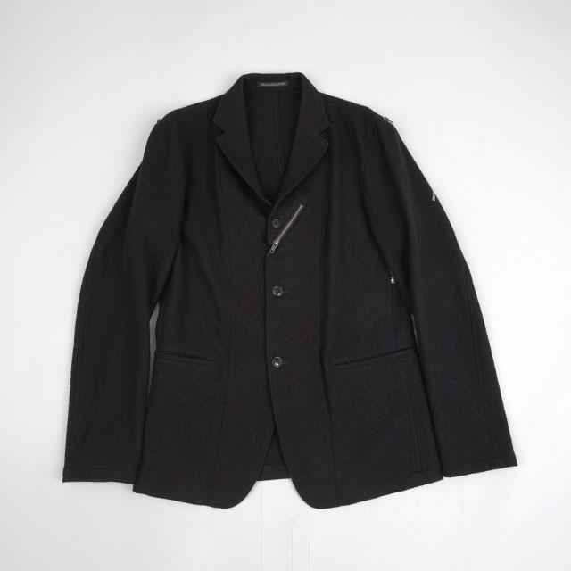2015A/W Yohji Yamamoto POUR HOMME Taping Zip Design Jacket