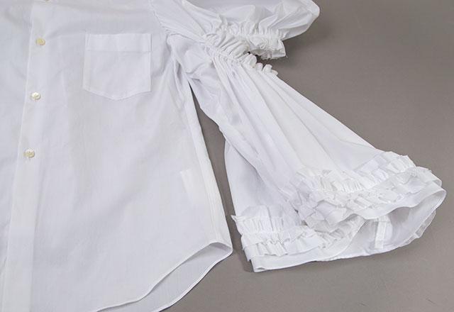 COMME des GARCONS Shirring Design Shirt