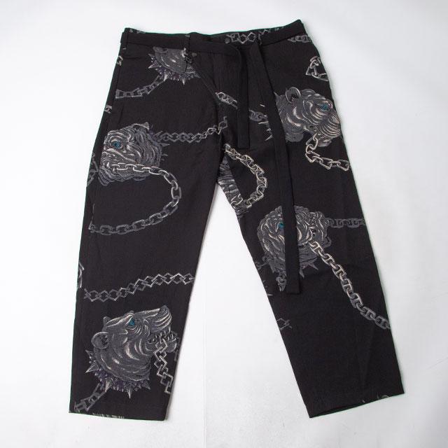 2014A/W Yohji Yamamoto POUR HOMME Chain & Bulldog Printed Pants