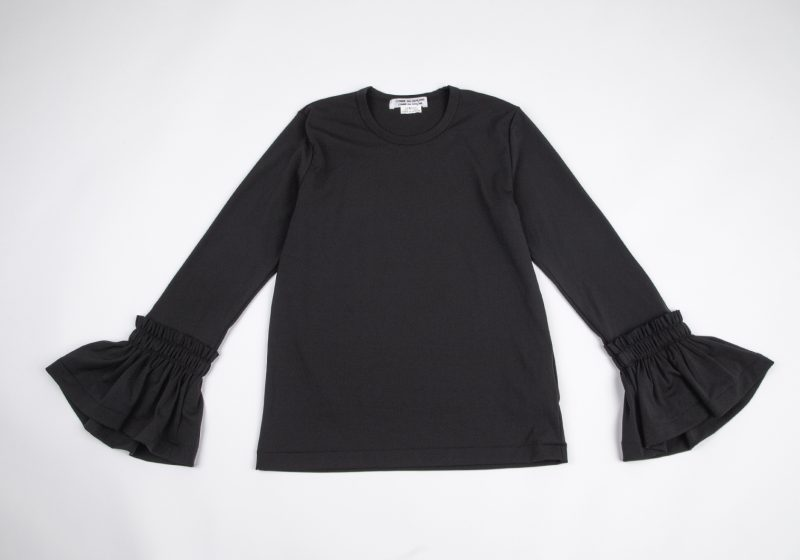 """""""Comme Comme"""" COMME DES GARCONS Frill Sleeve Top"""
