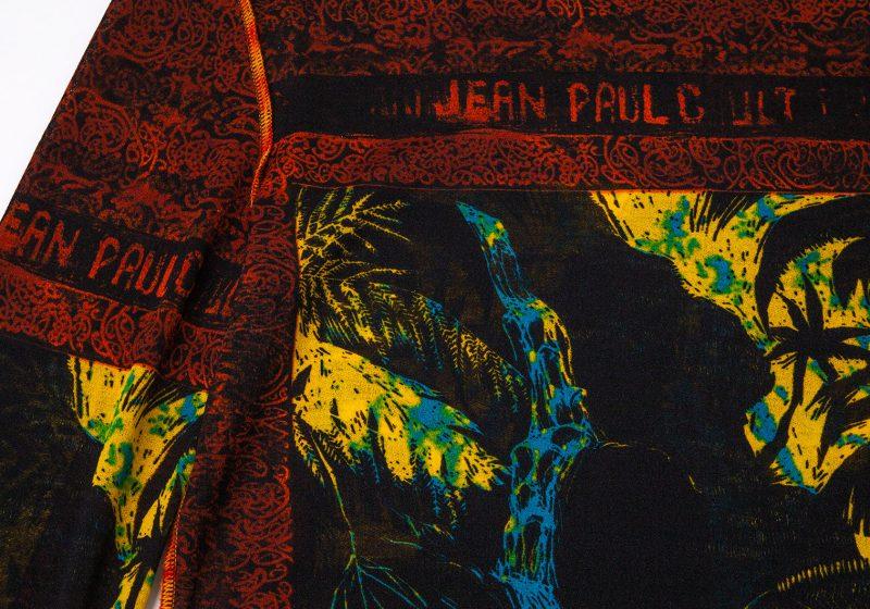 Jean Paul GAULTIER HOMME Printed Mesh Top