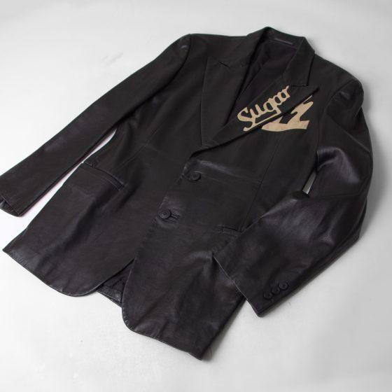 2003A/W Yohji Yamamoto POUR HOMME Cutting Leather Jacket