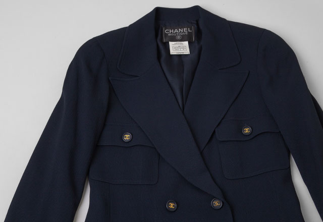 1997S/S CHANEL Vintage Long Jacket