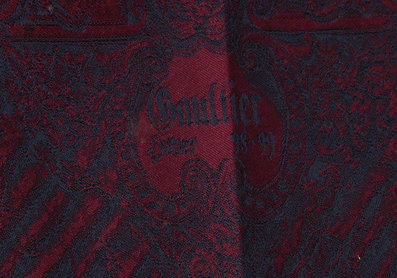 Jean Paul GAULTIER HOMME 98-99 Gothic Jacquard Pants