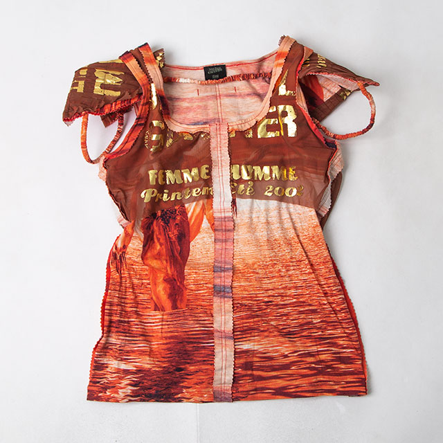 Jean Paul GAULTIER FEMME Printed Design Top